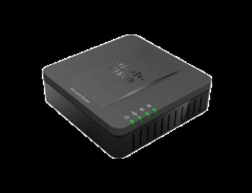 Настройка IP адаптера Cisco SPA 112